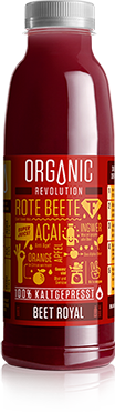 JUMUUV Superjuice Organic Revolution Beet Royal