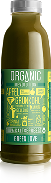 JUMUUV Superjuice Organic Revolution Green Love