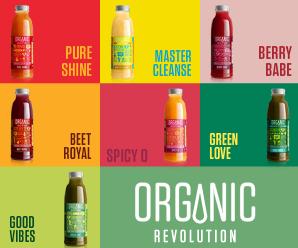 Organic Revolution, kaltgepresste Säfte, Superjuices