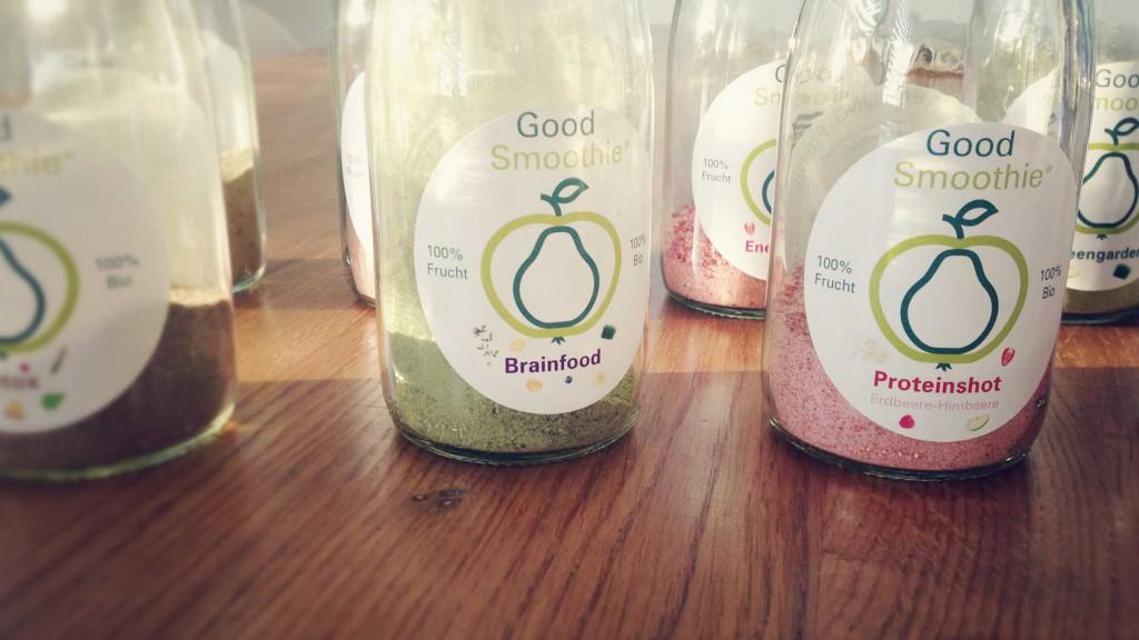 JUMUUV Good Smoothie Brainfood & Proteinshot