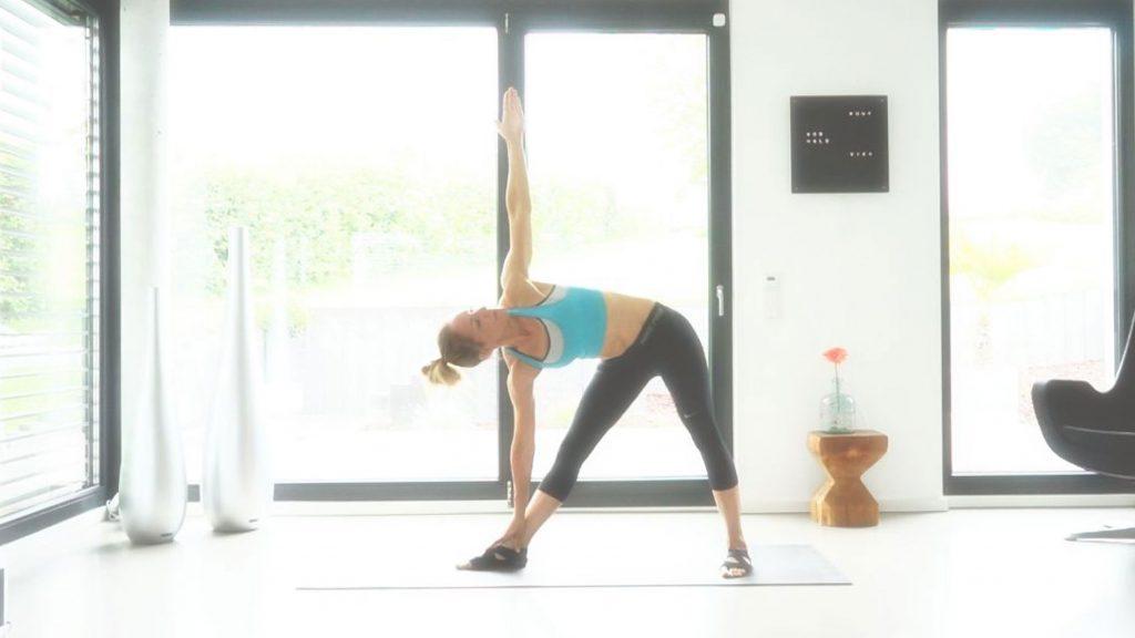 Yoga Asana, Das Dreieck, JUMUUV